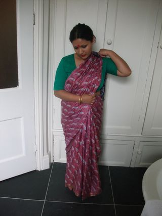 Indian traditional sari