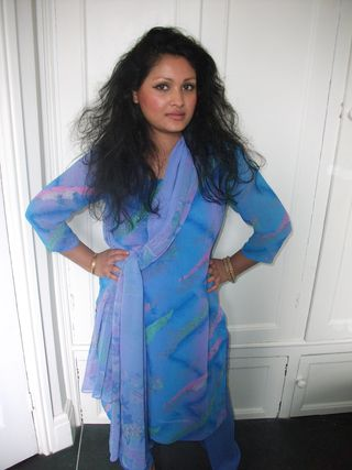South Asian Salwar kameez