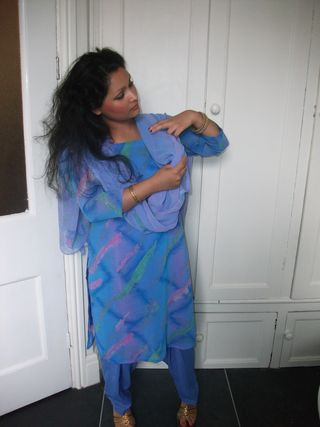 Pakistani salwar kameez south asian